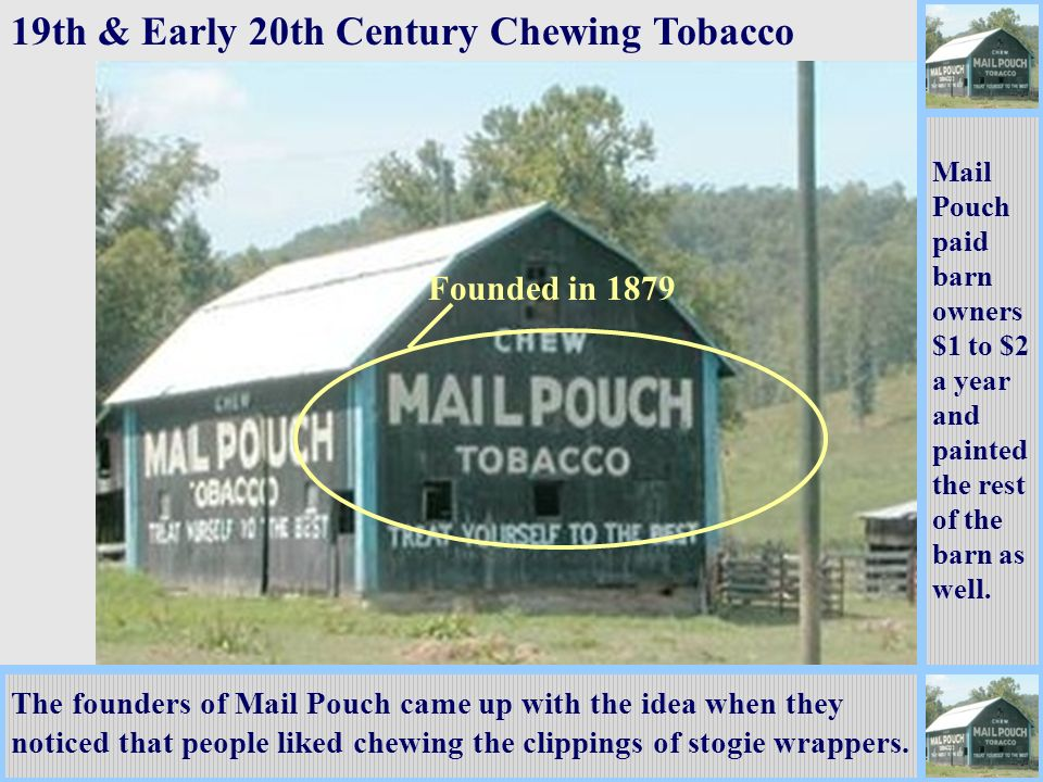 19th & Early 20th Century Chewing Tobacco