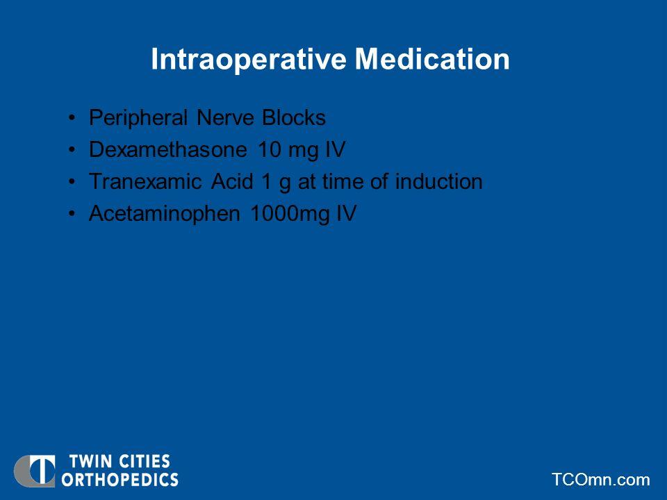 Intraoperative Medication