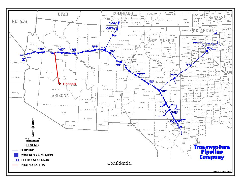 Confidential Phoenix LEGEND PIPELINE COMPRESSOR STATION