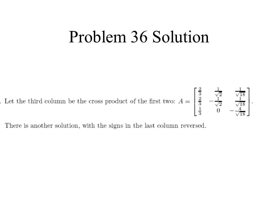 Problem 36 Solution