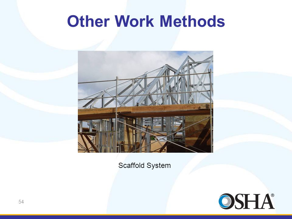 Other Work Methods Scaffold System