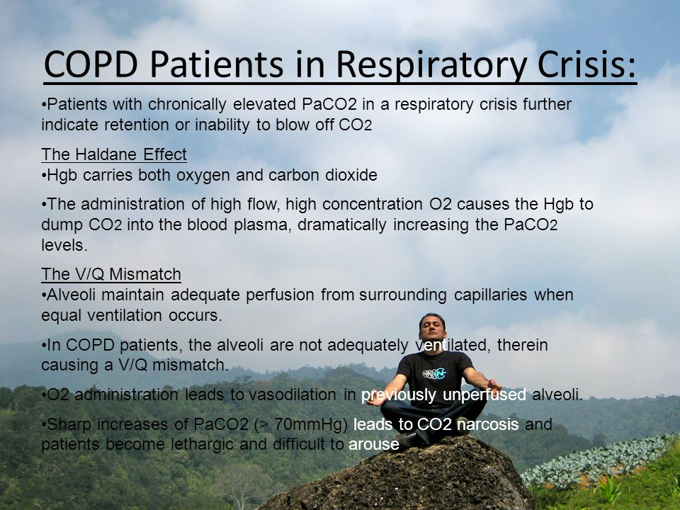 COPD Patients in Respiratory Crisis: