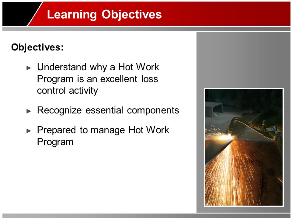 Learning Objectives Objectives: