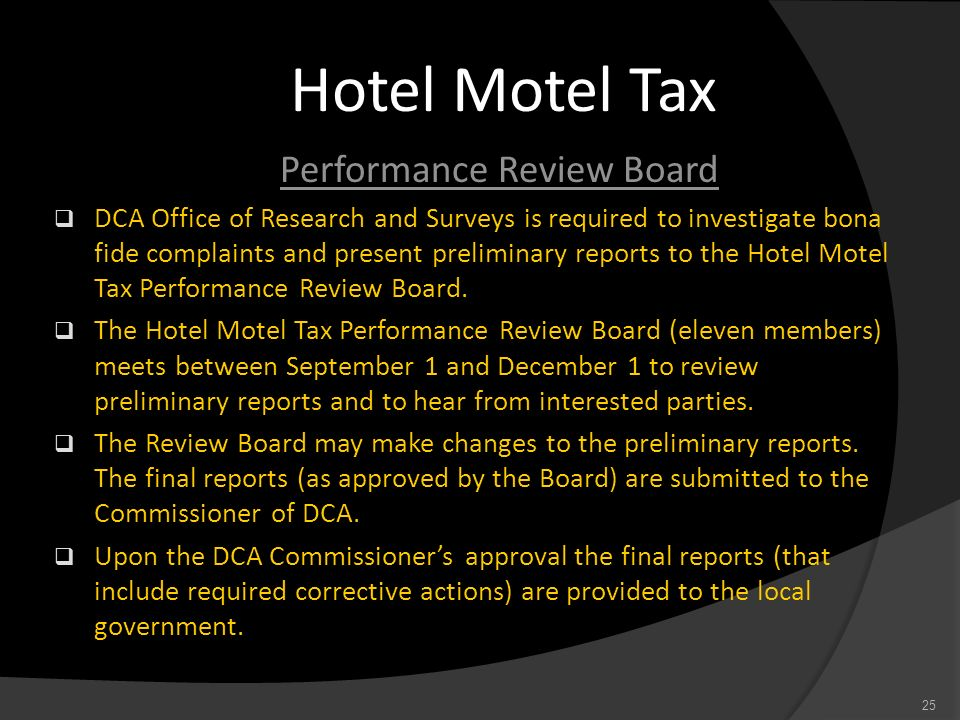 Performance Review Board