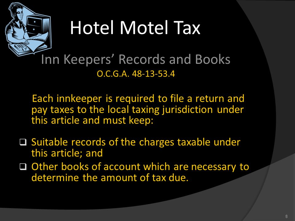 Inn Keepers' Records and Books