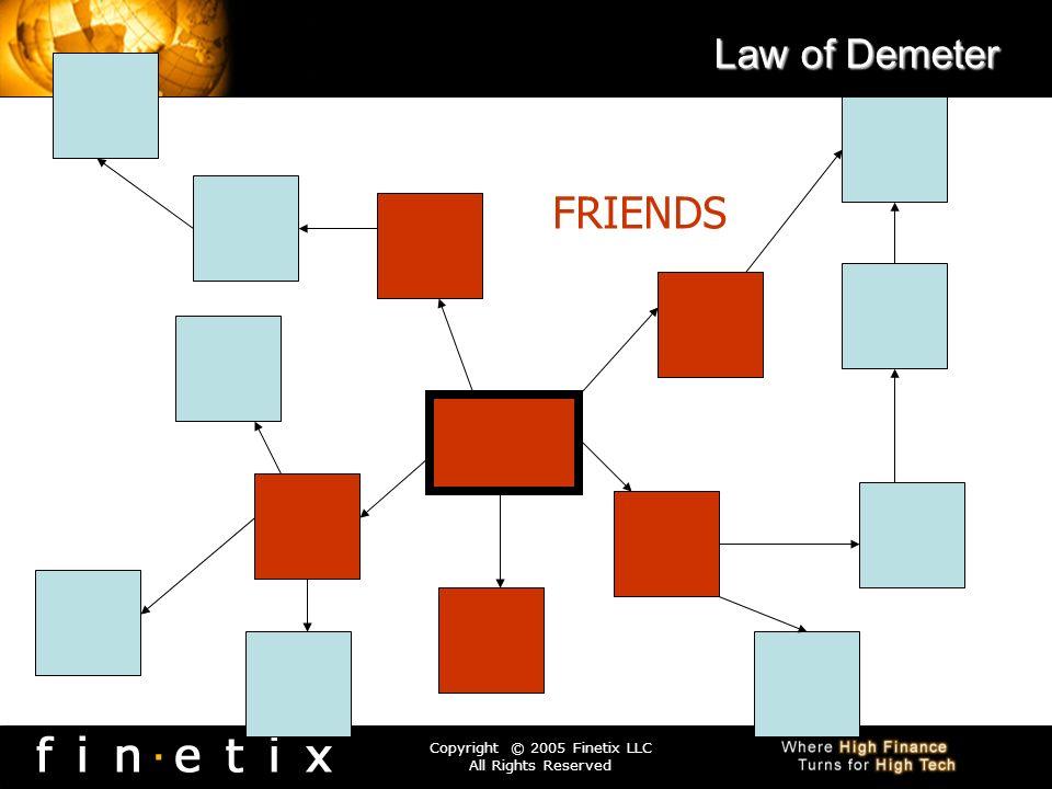 Law of Demeter FRIENDS