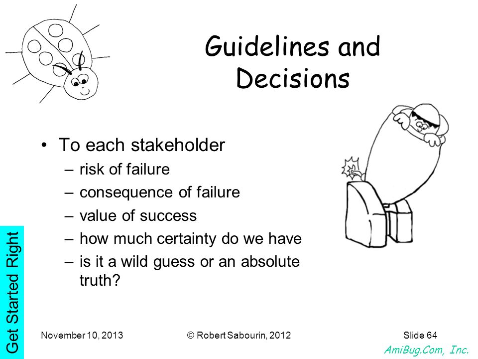 Guidelines and Decisions