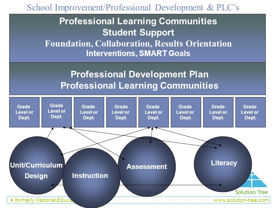 School Improvement/Professional Development & PLC's