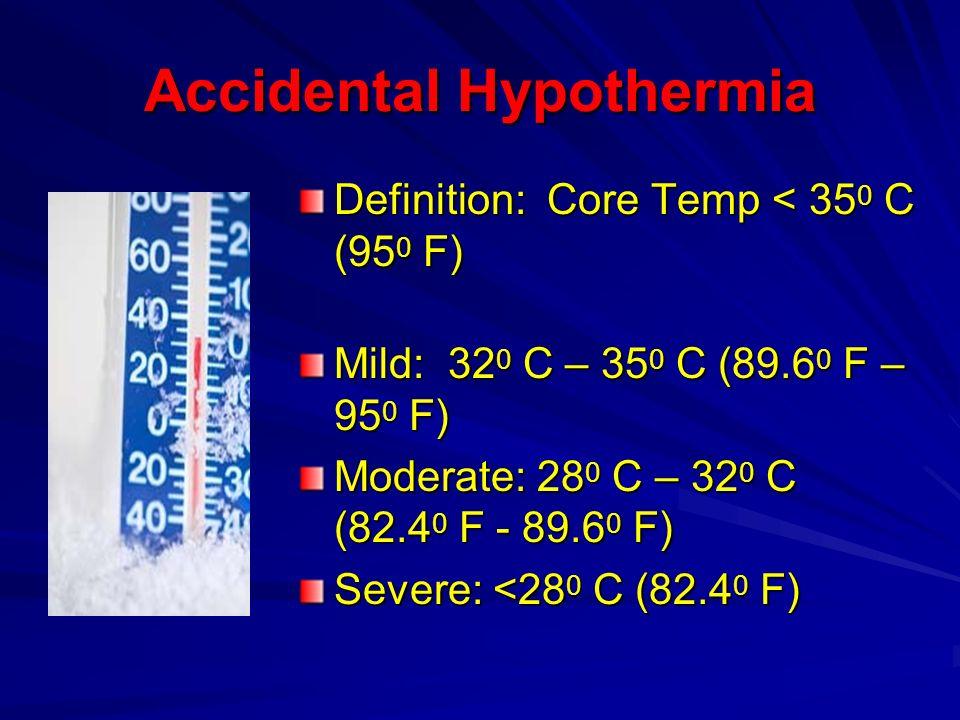 Accidental Hypothermia