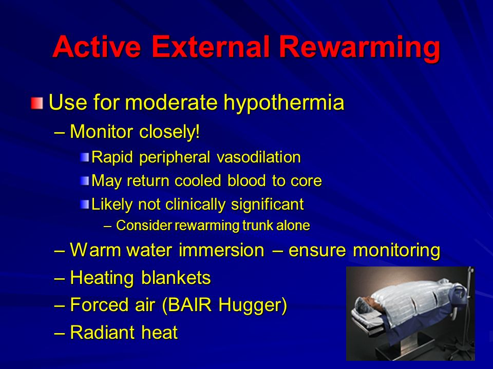 Active External Rewarming