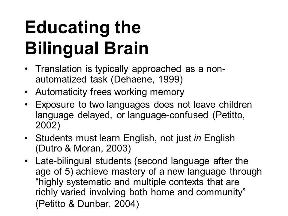Educating the Bilingual Brain