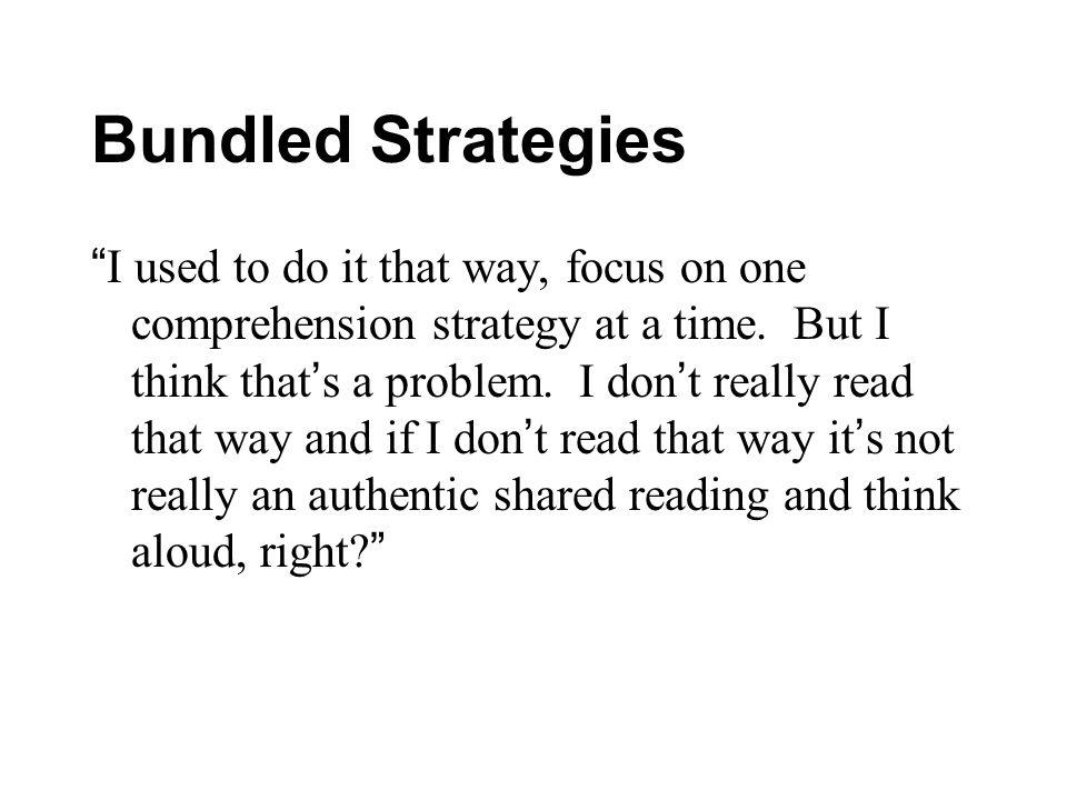 Bundled Strategies