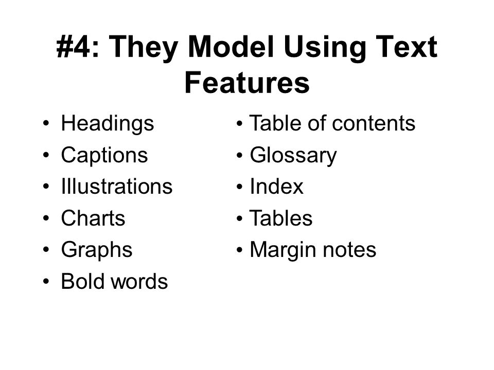 #4: They Model Using Text Features
