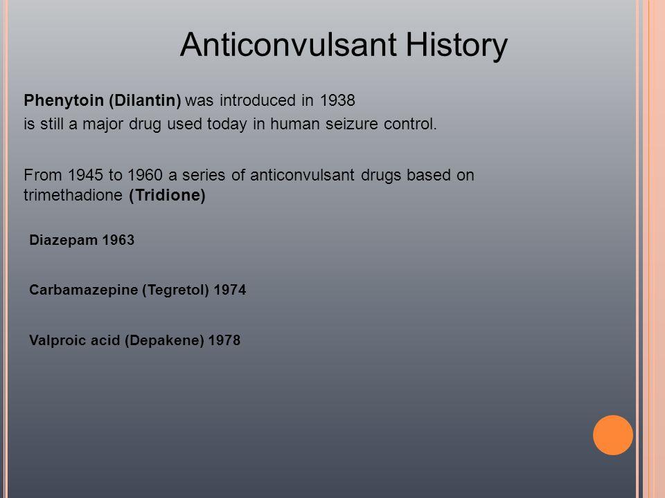 Anticonvulsant History