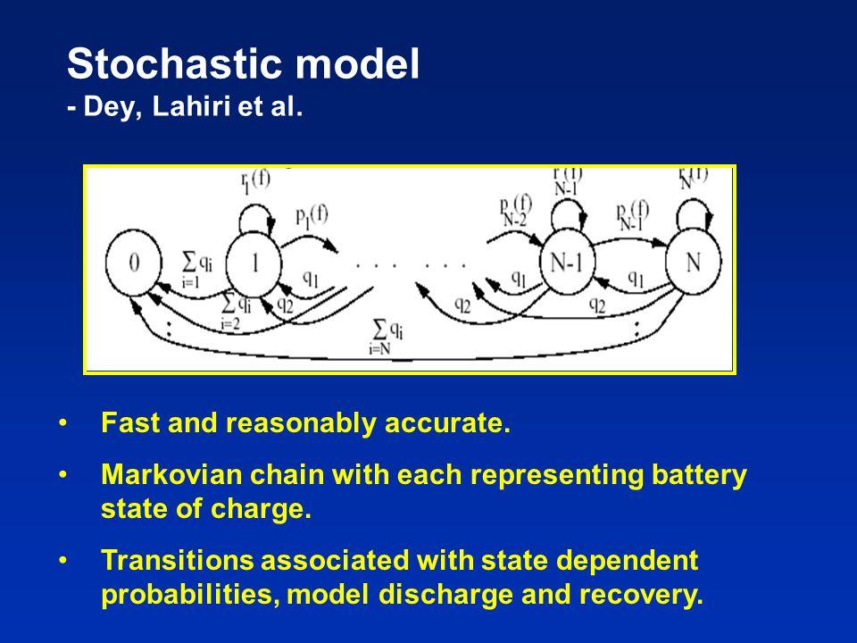 Stochastic model - Dey, Lahiri et al.