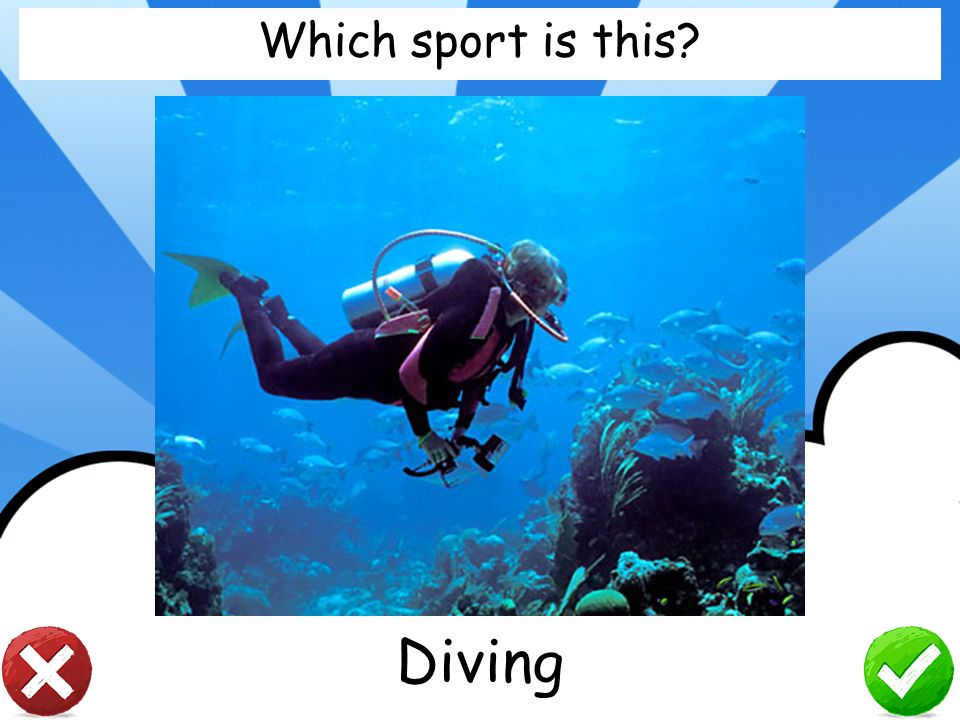 Which sport is this Diving