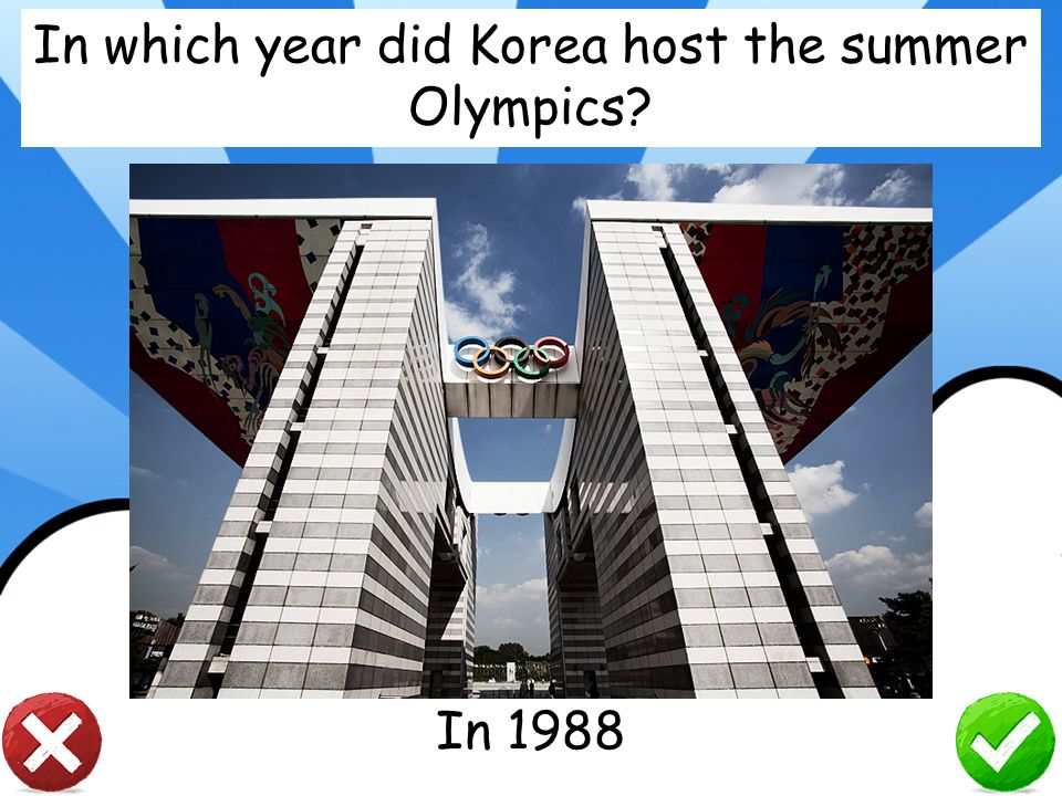 In which year did Korea host the summer Olympics