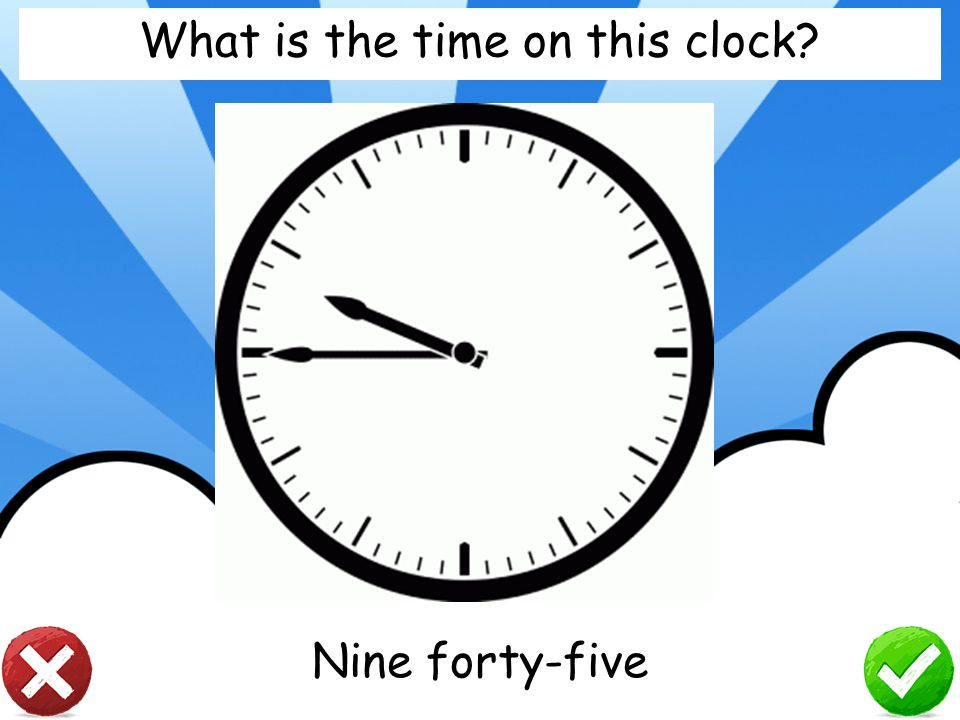 What is the time on this clock