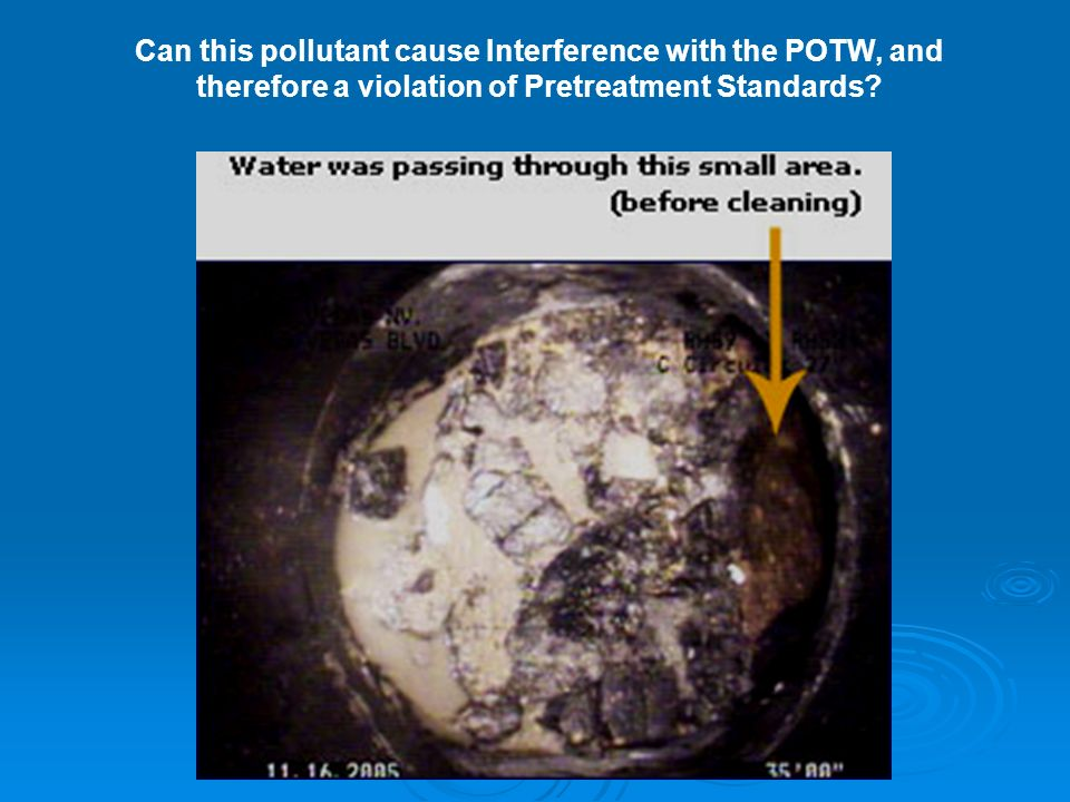Can this pollutant cause Interference with the POTW, and therefore a violation of Pretreatment Standards