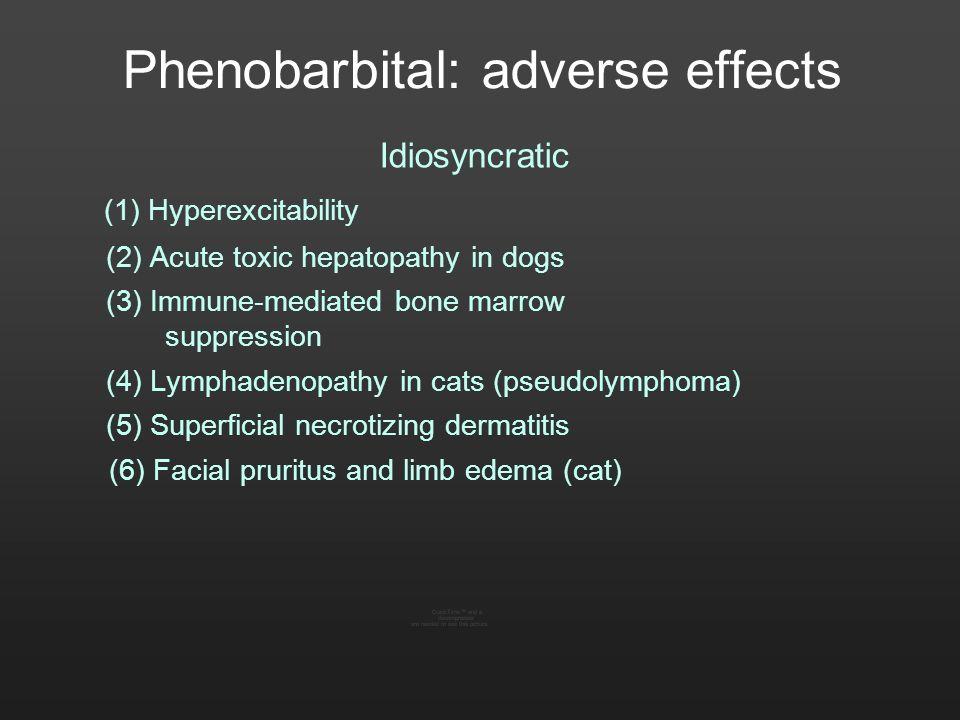 Phenobarbital: adverse effects