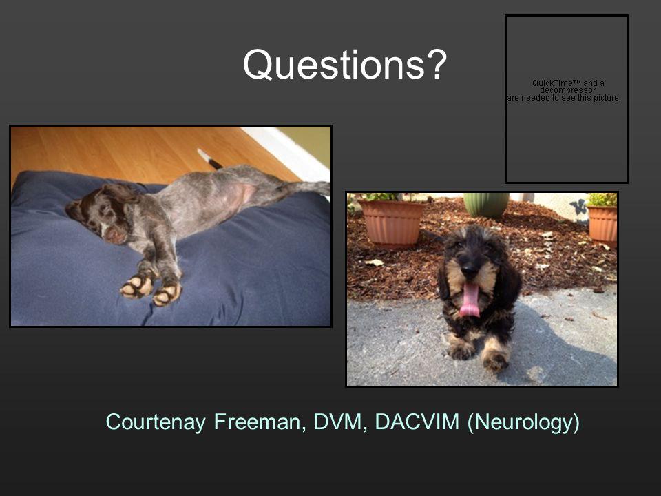 Courtenay Freeman, DVM, DACVIM (Neurology)