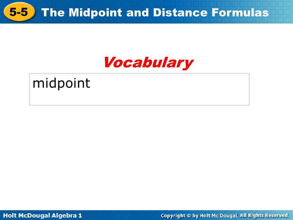 Vocabulary midpoint