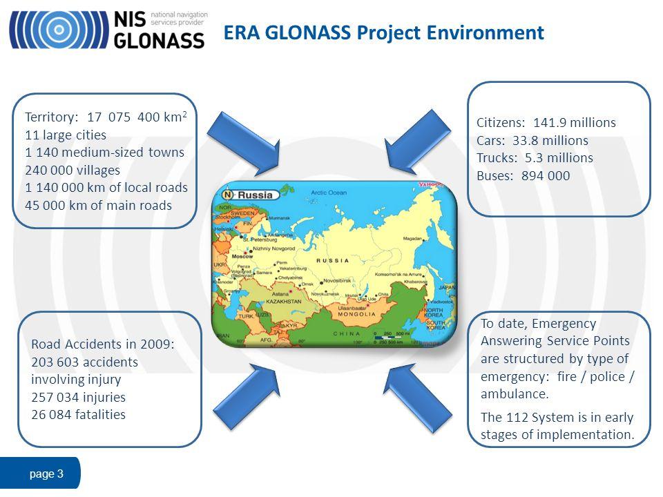 ERA GLONASS Project Environment