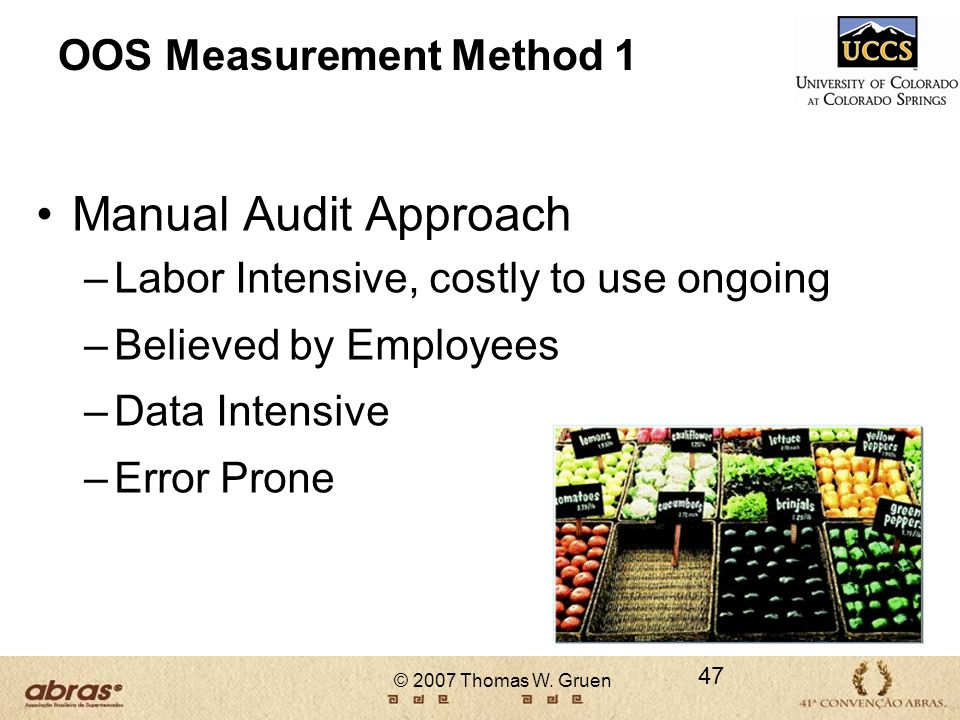 OOS Measurement Method 1