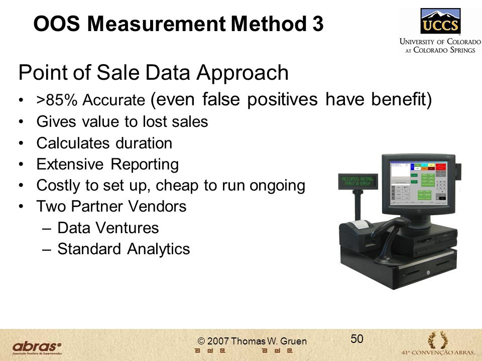 OOS Measurement Method 3
