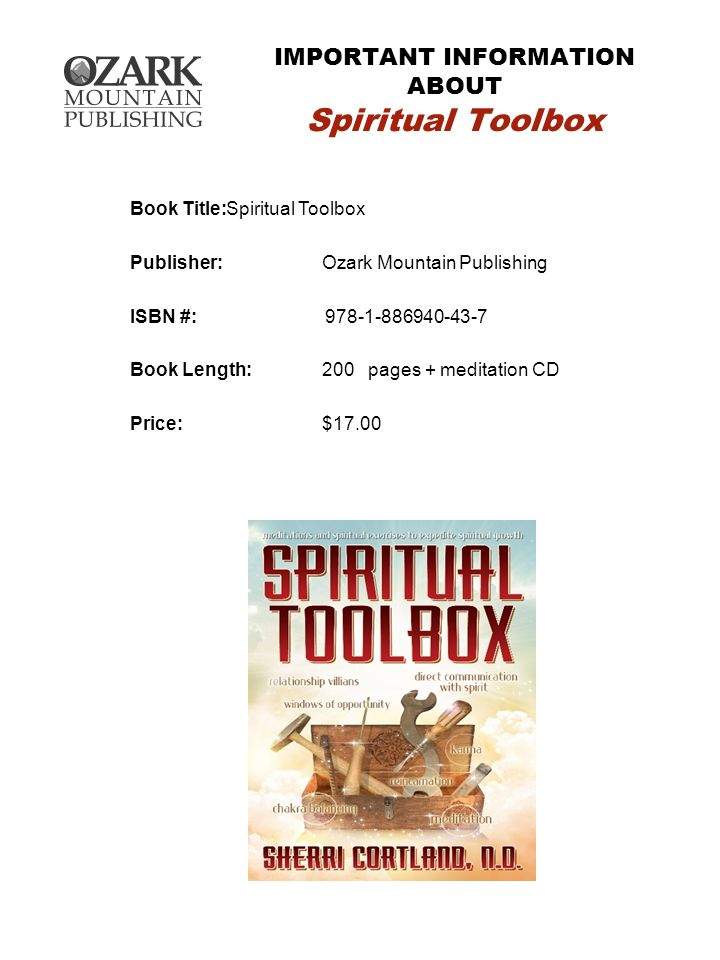 IMPORTANT INFORMATION ABOUT Spiritual Toolbox