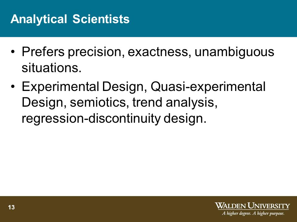 Analytical Scientists
