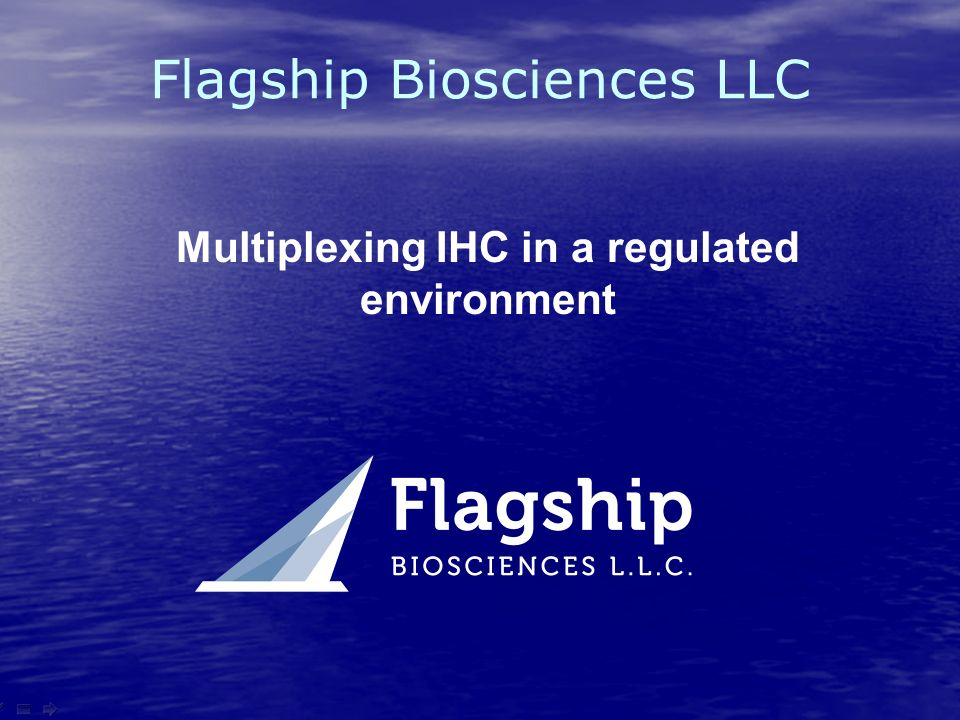 Multiplexing IHC in a regulated environment