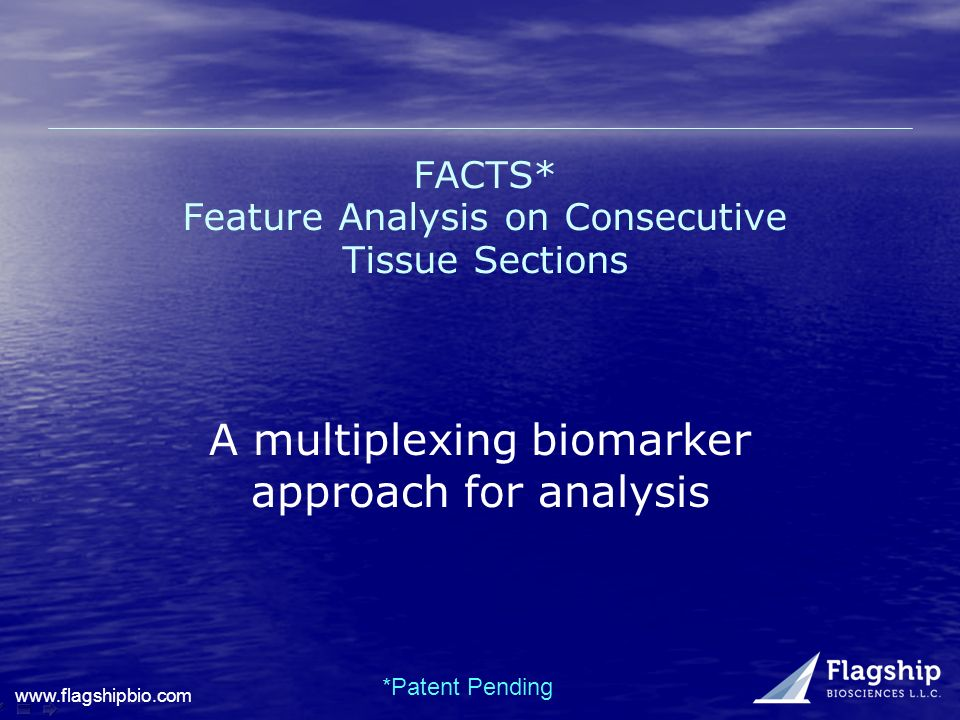 FACTS* Feature Analysis on Consecutive Tissue Sections