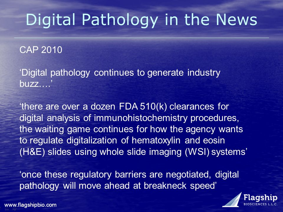 Digital Pathology in the News