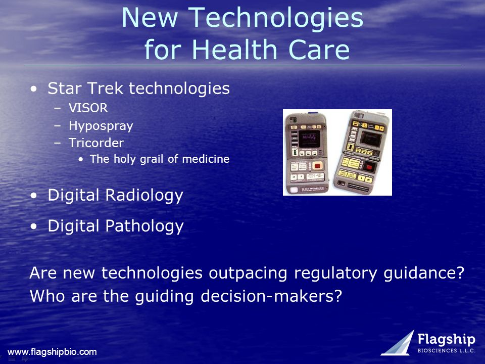 New Technologies for Health Care