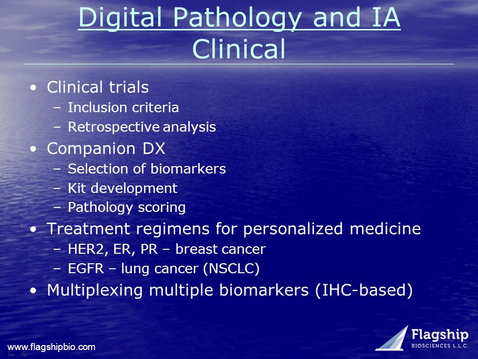 Digital Pathology and IA Clinical