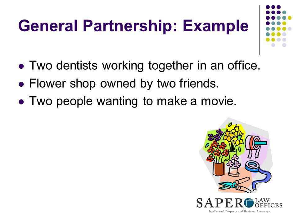 General Partnership: Example