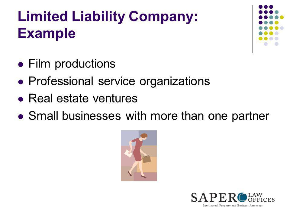 Limited Liability Company: Example