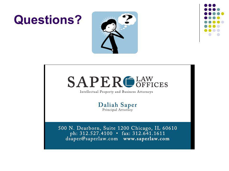 Questions Daliah Saper Saper Law Offices, LLC 312-527-4100