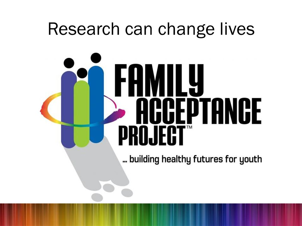Research can change lives