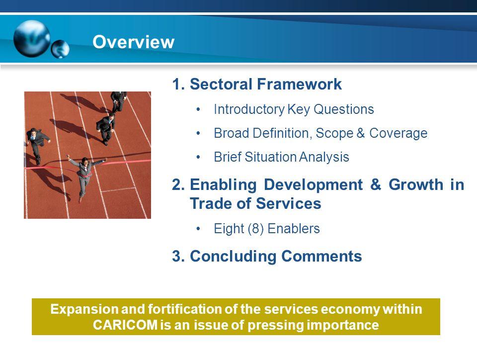 Overview Sectoral Framework