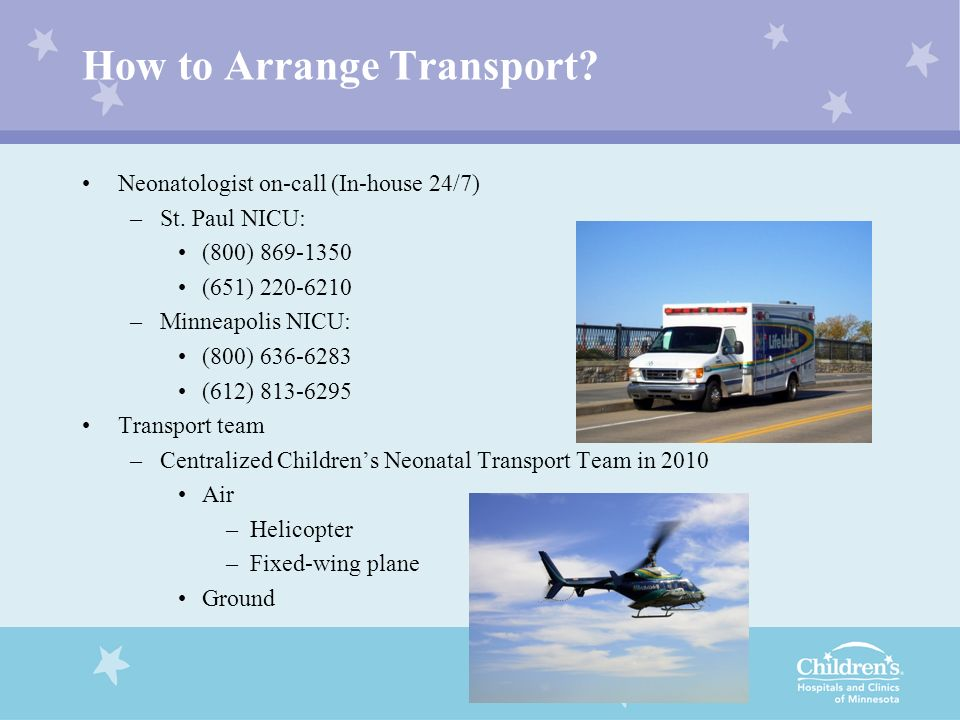 How to Arrange Transport