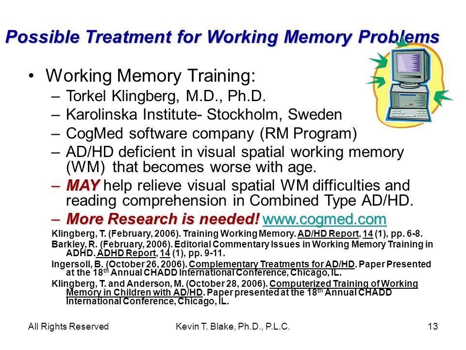 Kevin T. Blake, Ph.D., P.L.C. www.drkevintblake.com 520-327-7002