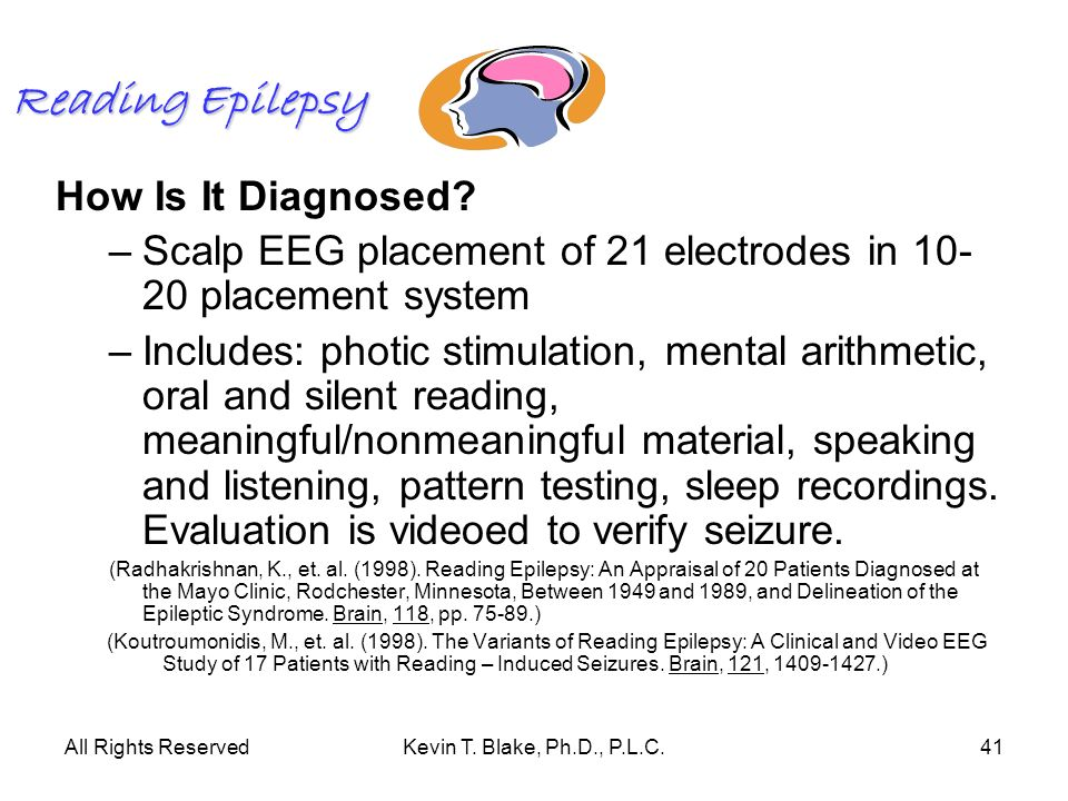 Reading Epilepsy How Is It Diagnosed