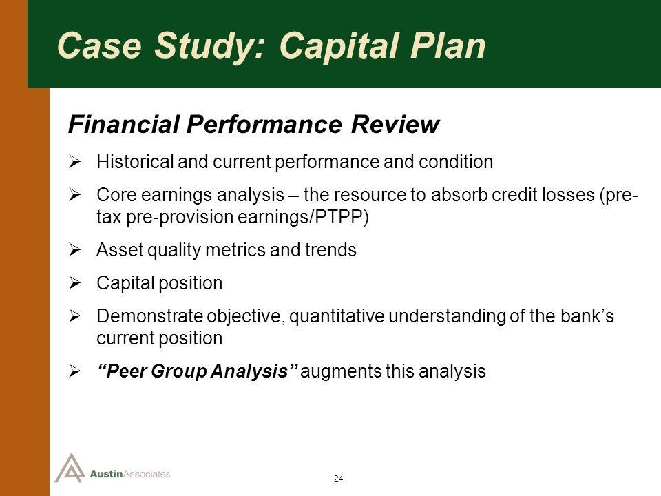Case Study: Capital Plan