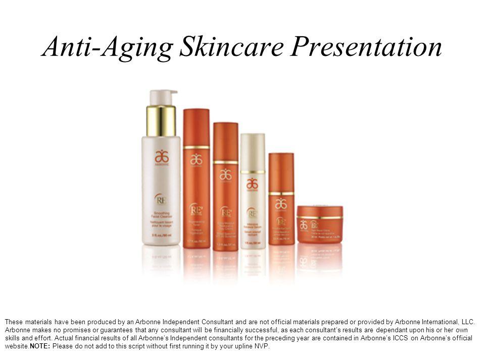 Anti-Aging Skincare Presentation
