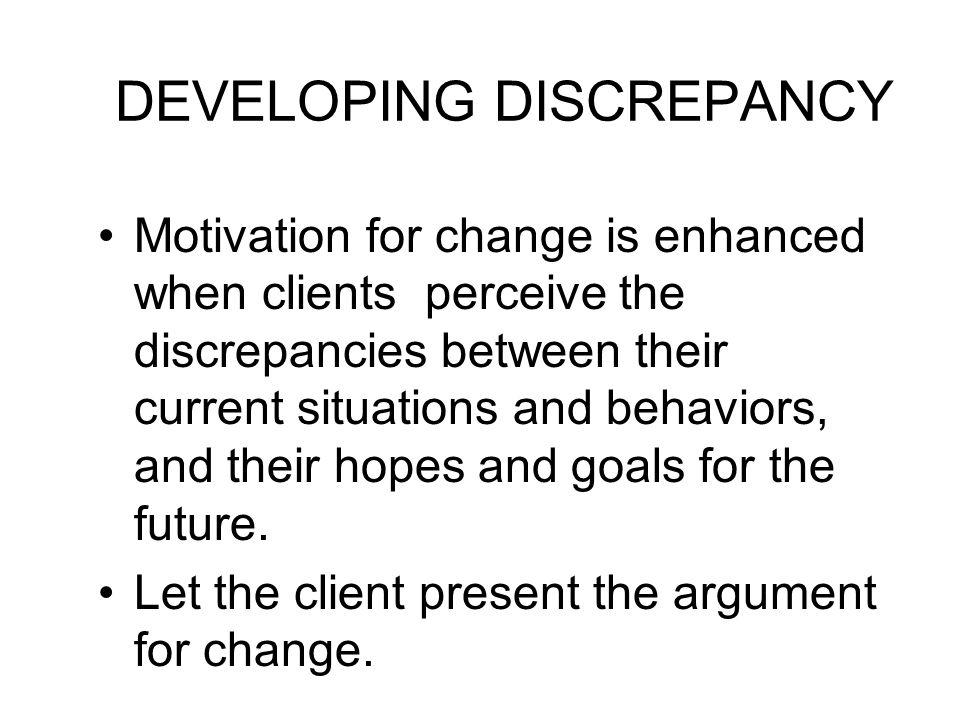 DEVELOPING DISCREPANCY