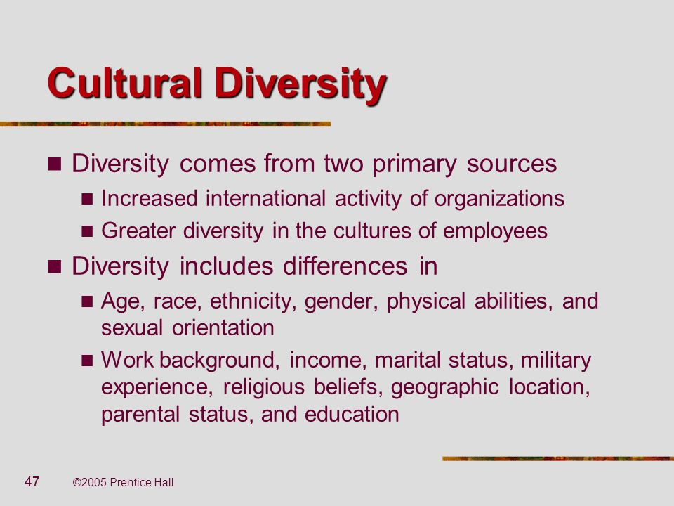 Physical Diversity in the Workplace