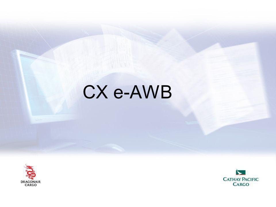 CX e-AWB