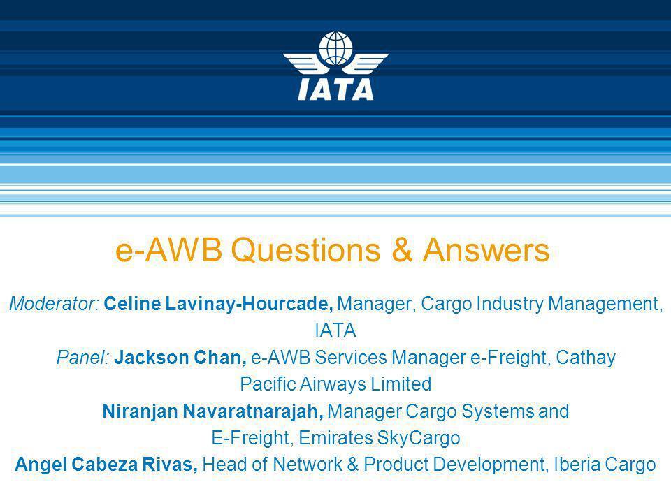 e-AWB Questions & Answers